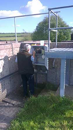 Streaming Current Analyser installed in Cork County, Ireland.