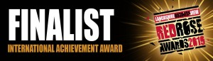 Red Rose Awards 2019 - International Achievement Award Finalist